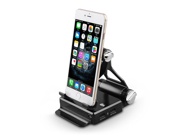 Podium-Style Charging Stand for $35