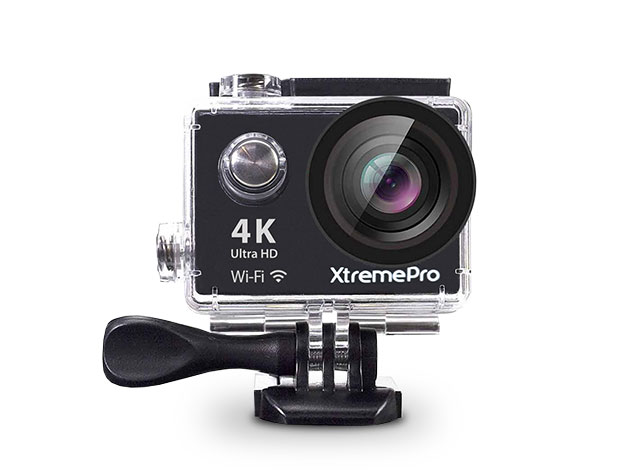 XtremePro 4K Ultra HD Action Cam with Mounts for $69