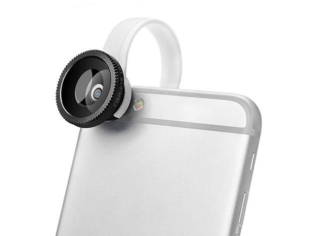 3-in-1 Universal Smartphone Camera Lens Kit for $9