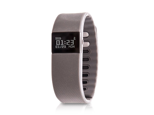 Zunammy Fitness Trackers (Grey) for $18