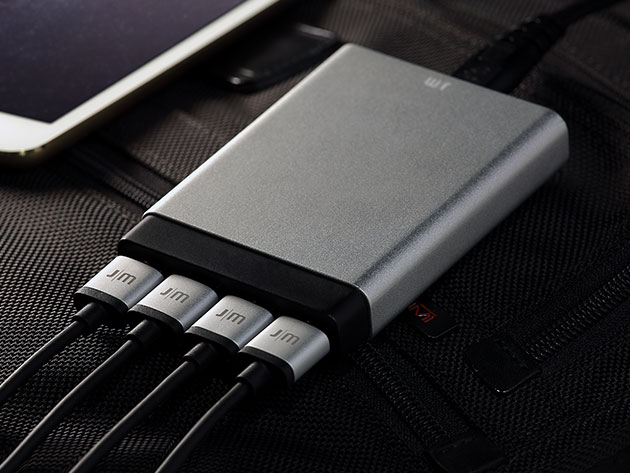 Just Mobile AluCharge Ultra Slim 4-Port Rapid USB Charger for $39