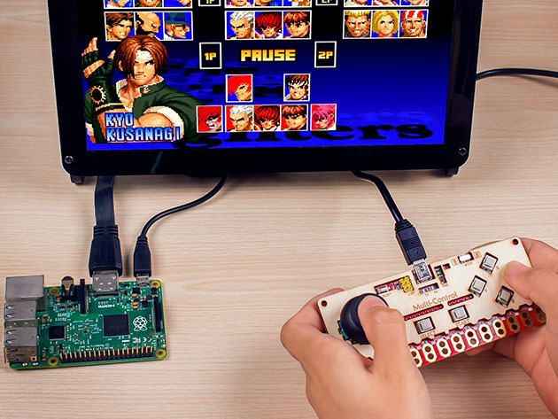 MagicKey 3-in-1 DIY MIDI Gamepad Keyboard for $32