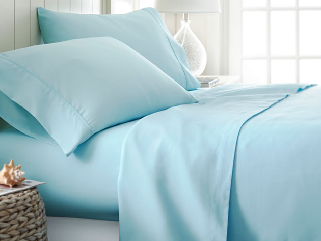4-Piece Classic Queen Sheet Sets for $31