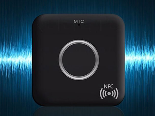 Bluetooth Audio Receiver with NFC for $24