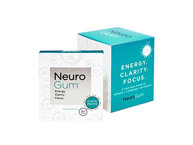 NeuroGum Nootropic Energy Gum for $14