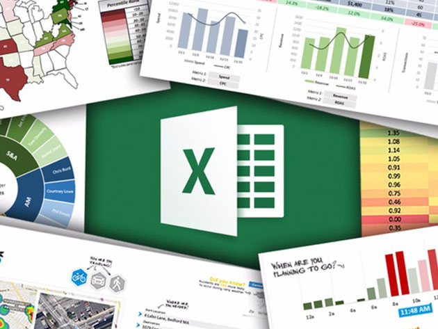 The Ultimate Microsoft Excel Bundle for $25