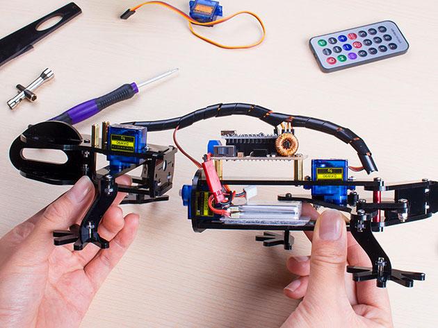 DIY Bionic Robot Lizard for $54
