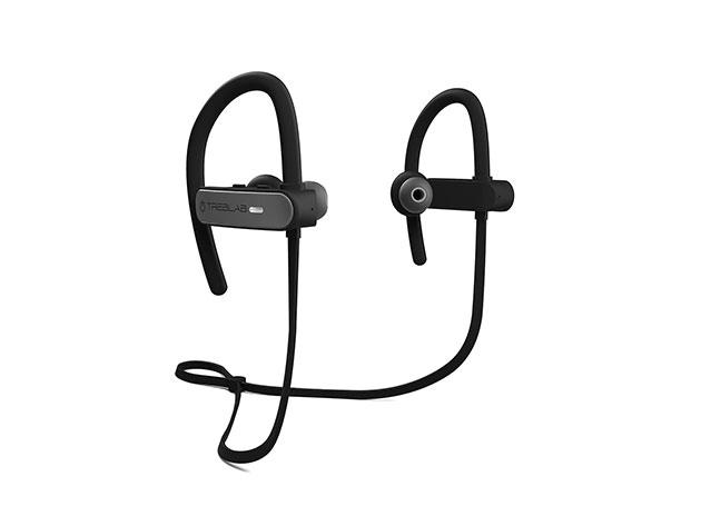 TREBLAB XR800 Sports Bluetooth Earphones for $33