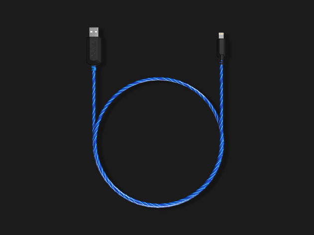 Electron Flow MFi-Certified Charging Cable for $19