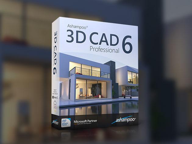 Ashampoo 3D CAD Professional 6 for $29