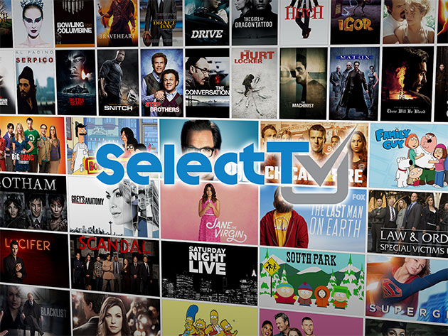 SelectTV by FreeCast: 1-Yr Subscription for $19