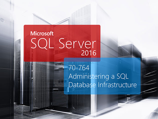 The MCSA SQL Server Certification Training Bundle for $19