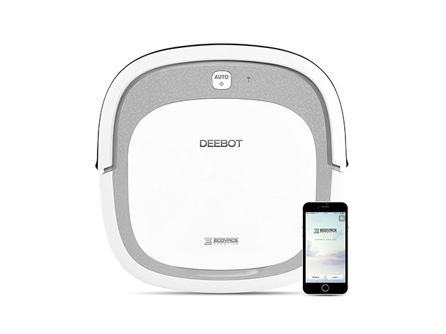 ECOVACS DEEBOT Slim2 Robotic Vacuum Cleaner for $140