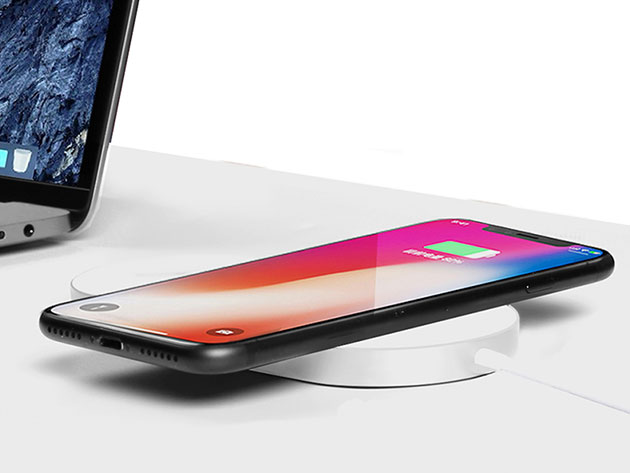 iPM 2-in-1 Wireless Charging Pad for $39