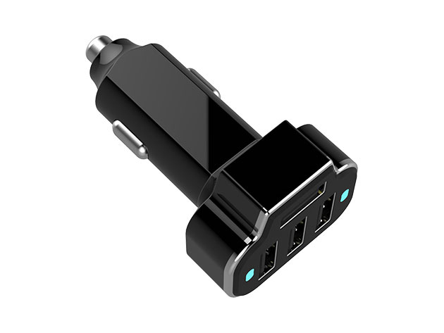 Aduro PowerStation 4-Port USB Car Charger for $11