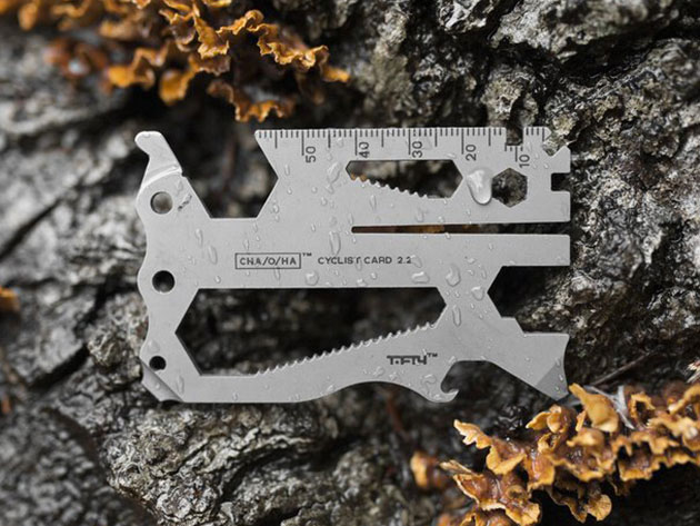 Cyclist Card Everyday Carry Multi-Tool for $72