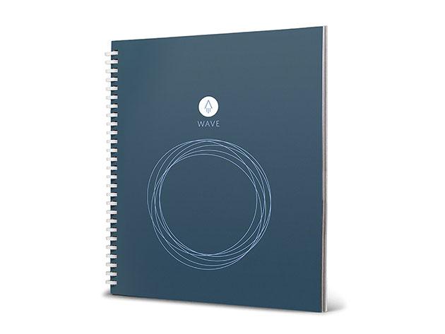 Rocketbook Wave Reusable Smart Notebook for $19