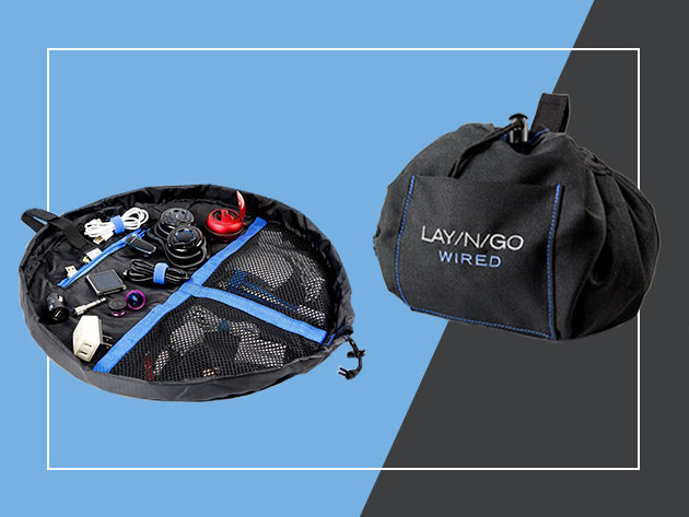 Lay-n-Go Wired Accent Bag for $30