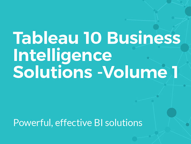 The Complete Tableau 10 Data Science Bundle for $12