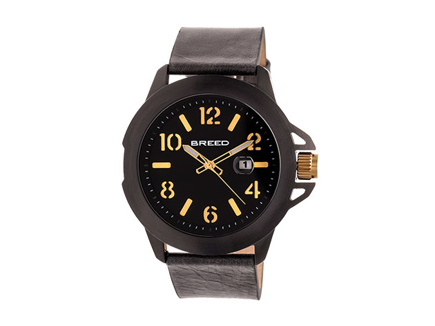 Breed Bryant Watch (Gold And Black) for $49
