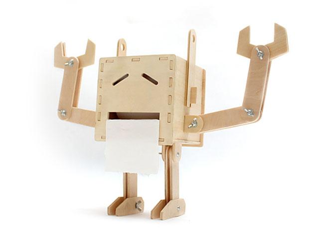 DIY Robot Tissue Box Holder for $24