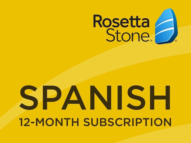 Rosetta Stone Subscriptions for $179