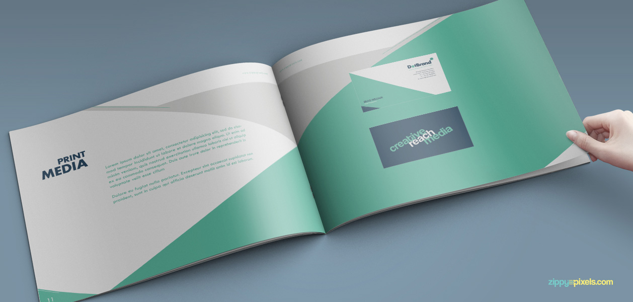 10 brand book 5 print media business card business legions blog maxwellsz