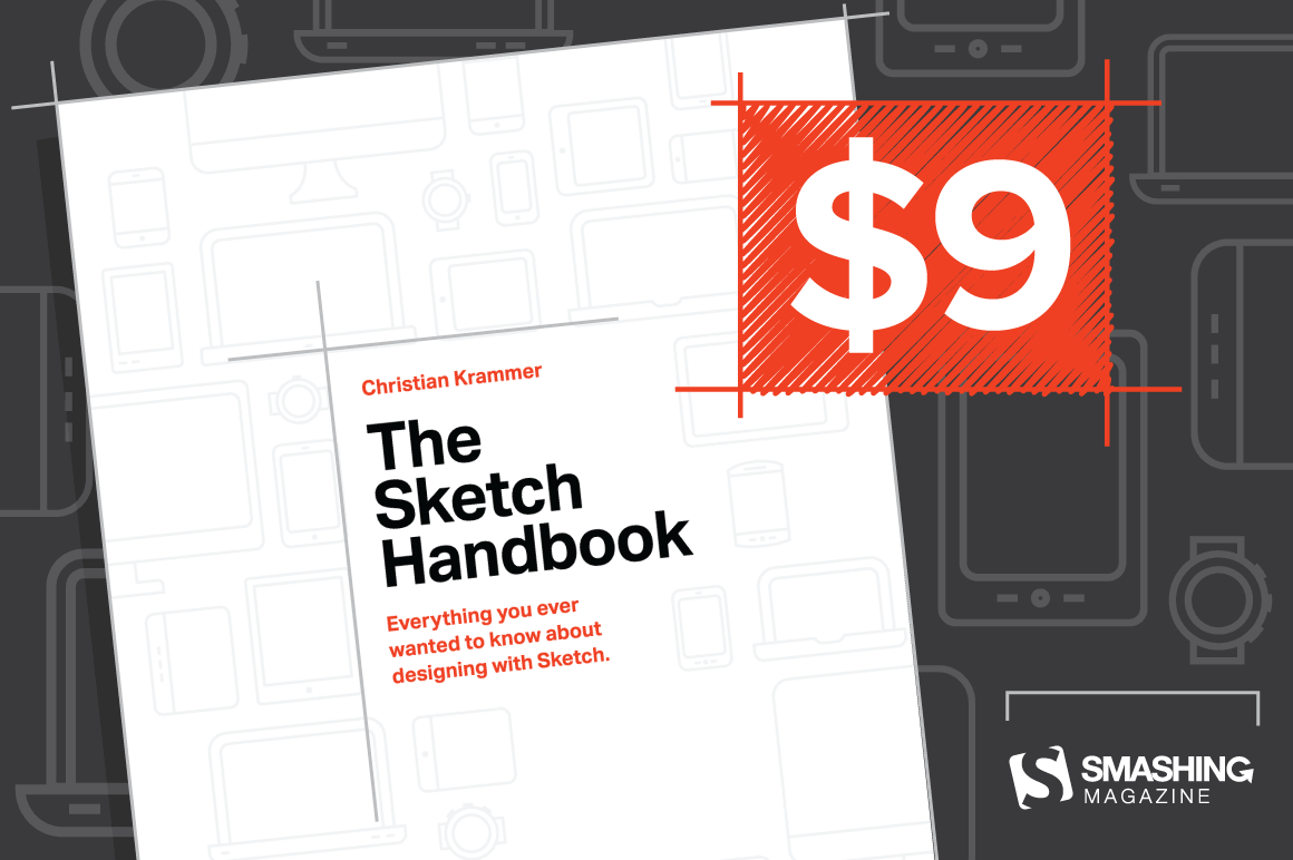 Master the UI Design App With The Sketch Handbook by Christian Krammer - only $9!