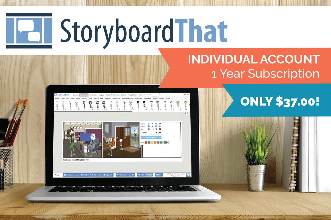 Storyboard That: 50% off Individual Account
