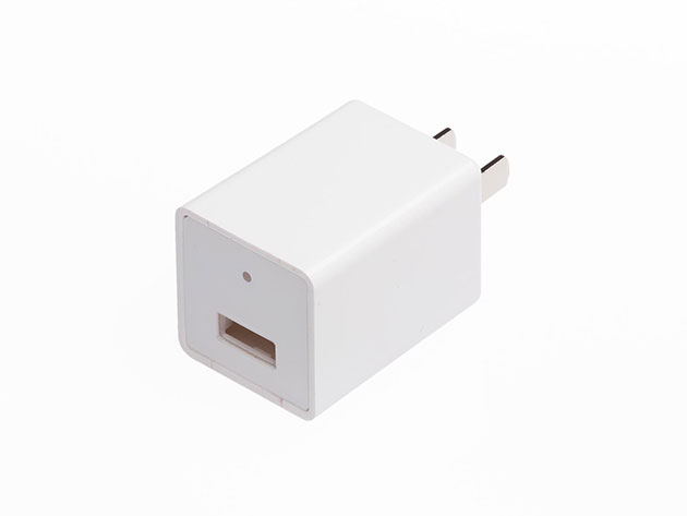 USB Wall Charger With Hidden Camera for $49