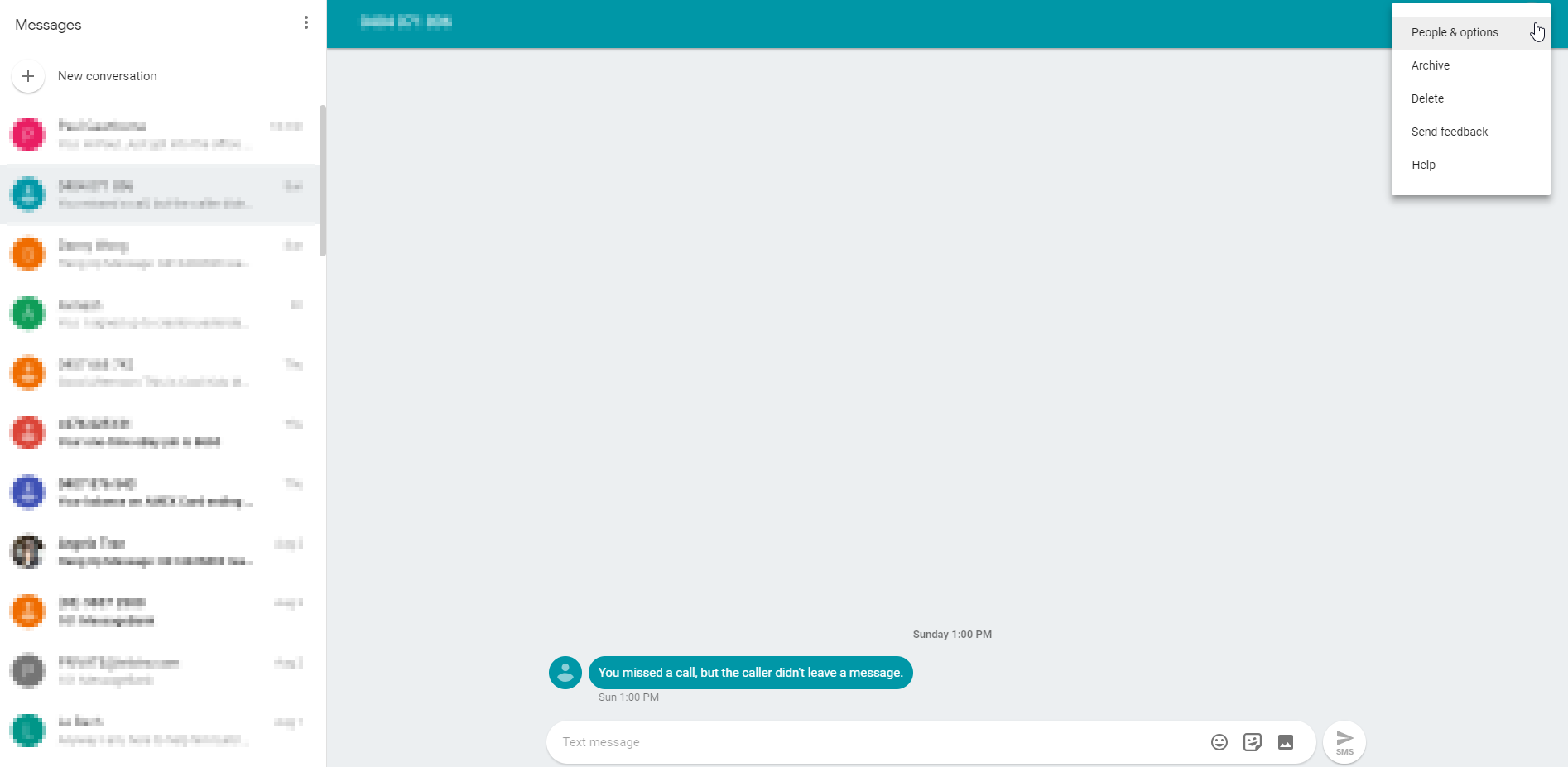 Business Legions - Android Messages for Web 2