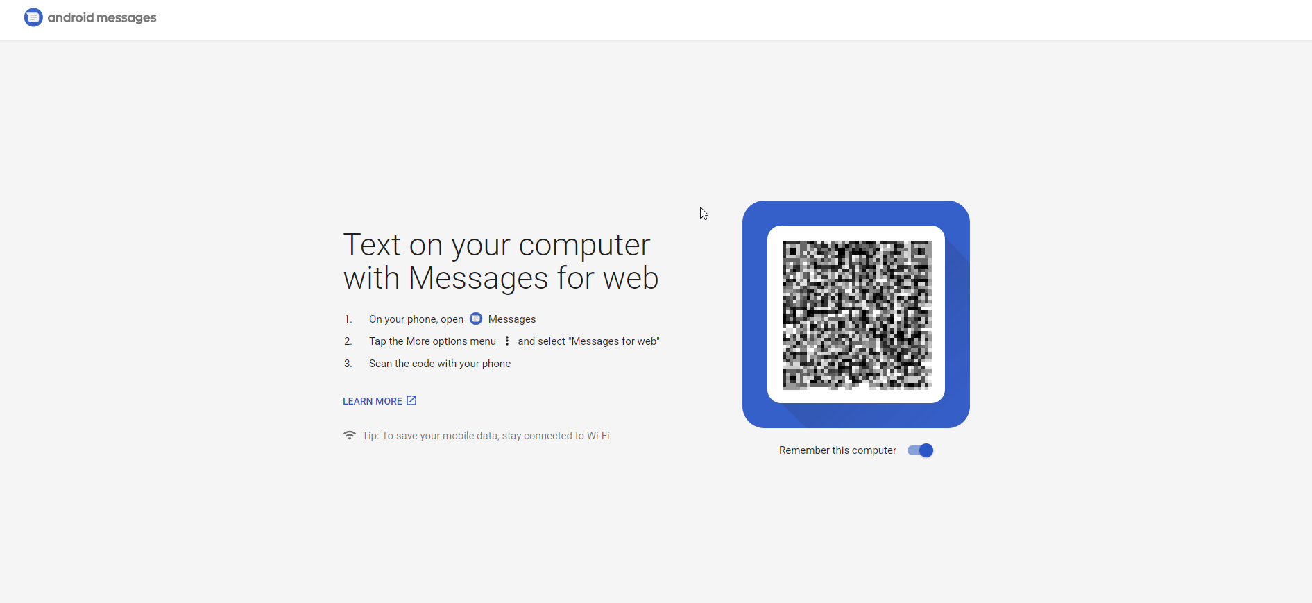 Business Legions - Android Messages for Web