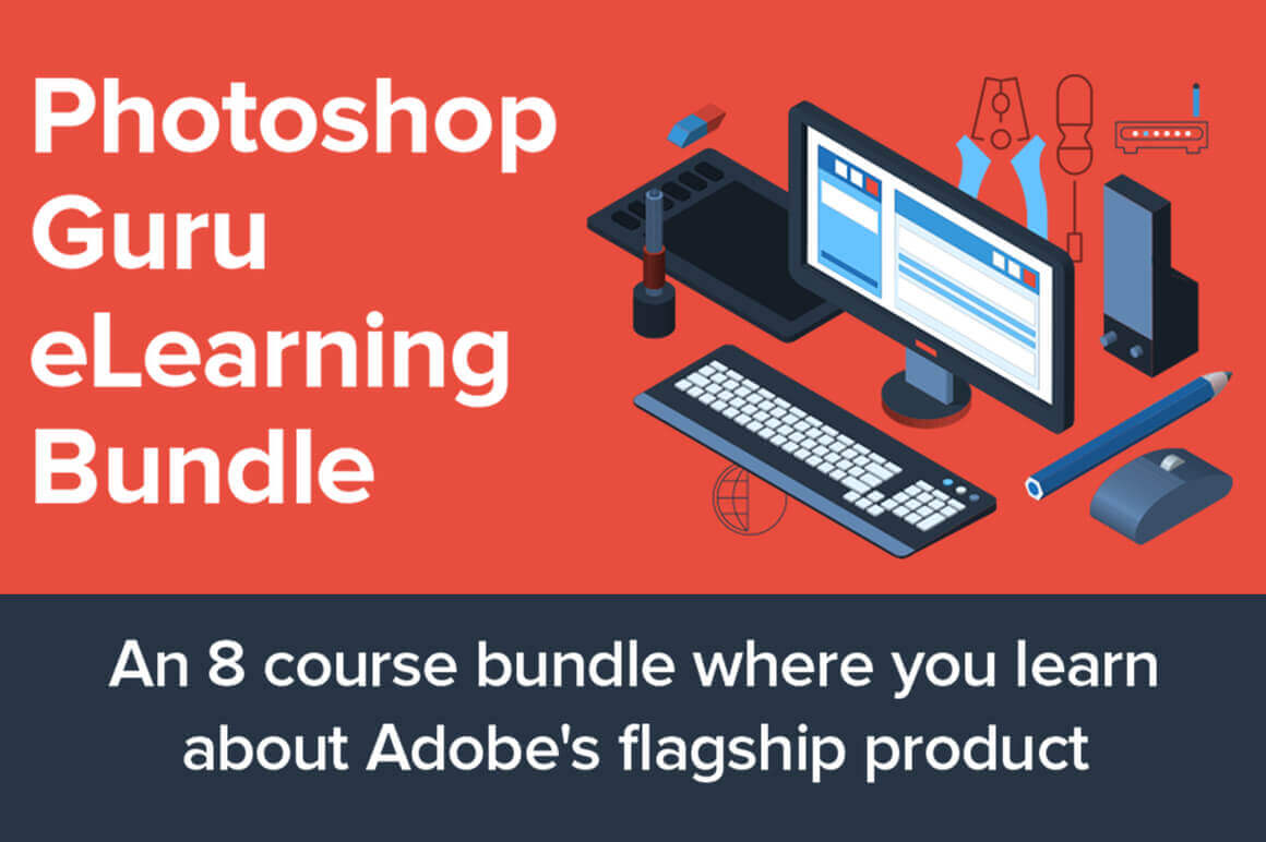 Master Photo Manipulation like a Pro with the Photoshop Guru eLearning Bundle – only $12!