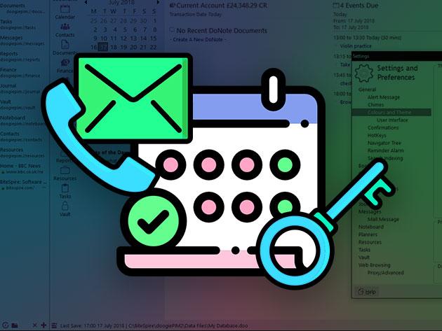 doogiePIM Encrypted Personal Organizer for $19