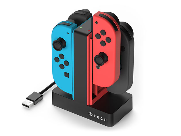 4-In-1 Charger Dock For Nintendo Switch Joy-Con Controllers for $15