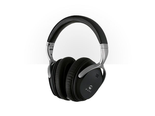 Paww WaveSound 2.1 Low Latency Bluetooth 4.2 Over Ear Headphones for $64