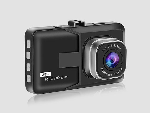 Black Box 1080p Dash Cam for $25