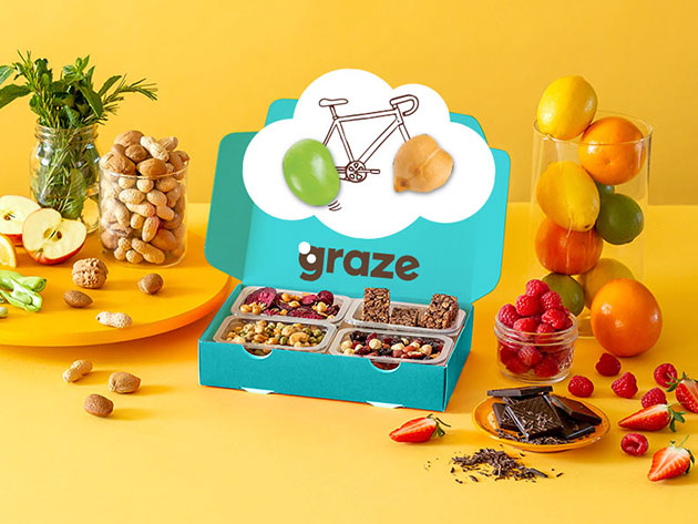 Free: Graze Box of Healthy Snacks for $10
