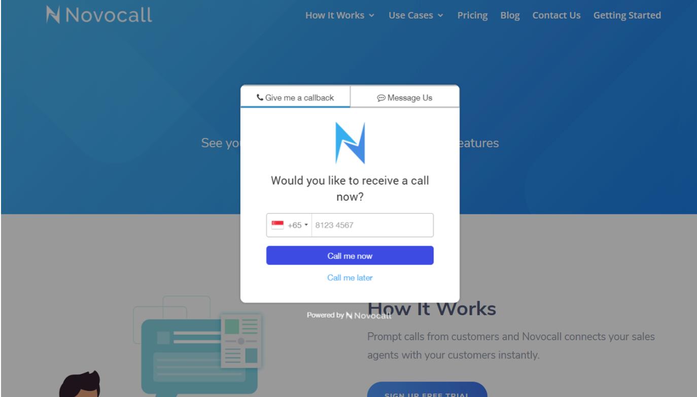 Lifetime Deal to Novocall for $49