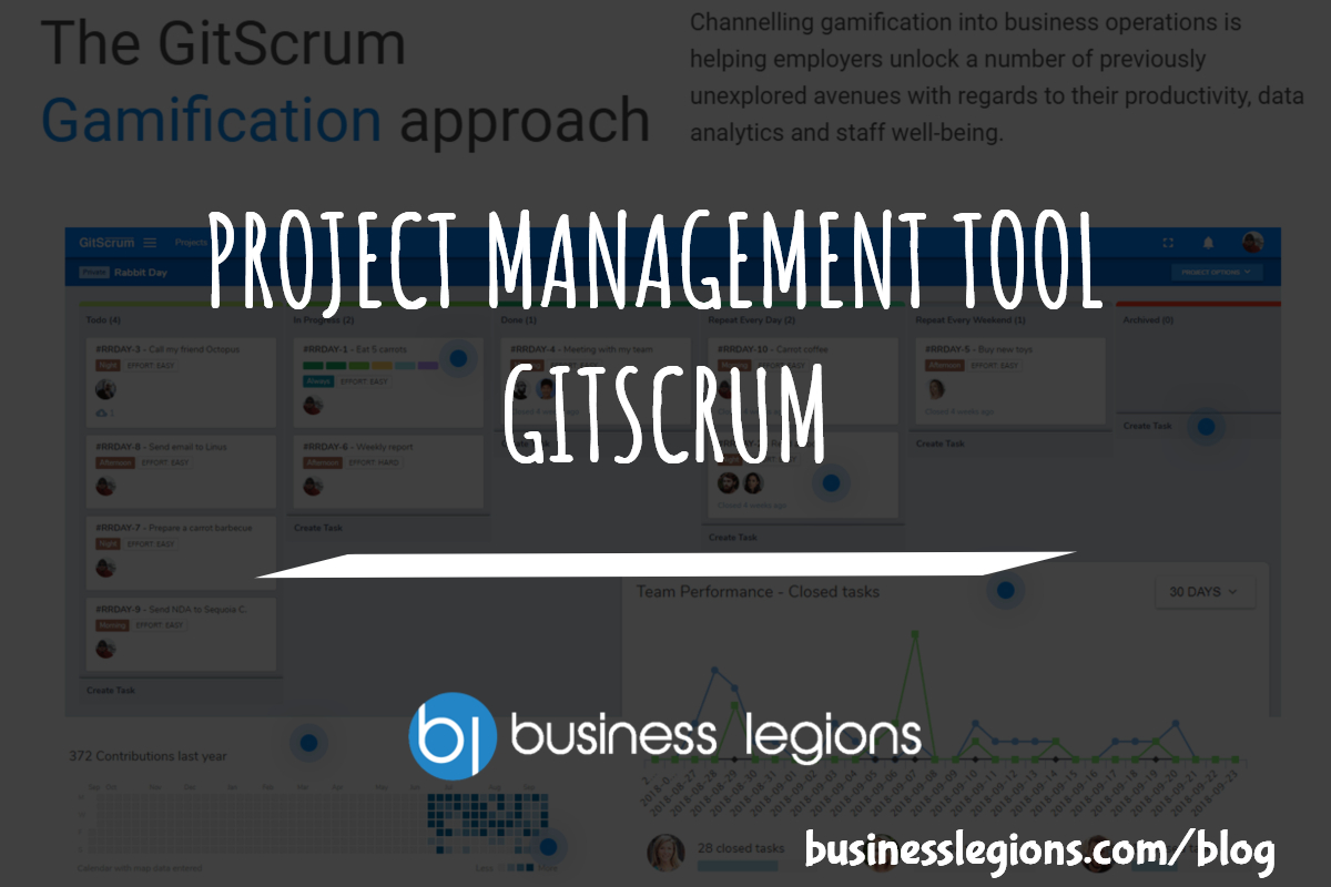 PROJECT MANAGEMENT TOOL – GITSCRUM