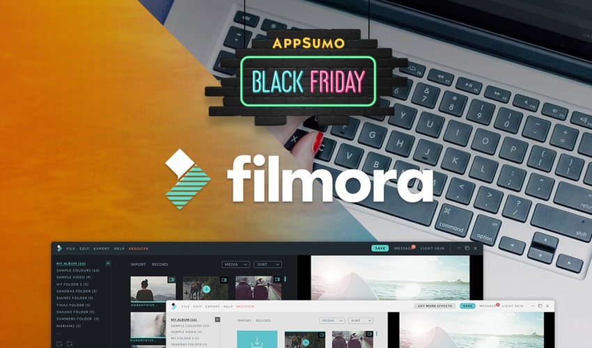 Lifetime Deal to Filmora for $49