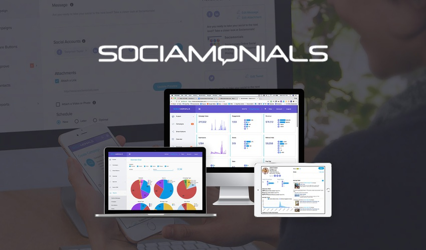Lifetime Deal to Sociamonials for $49