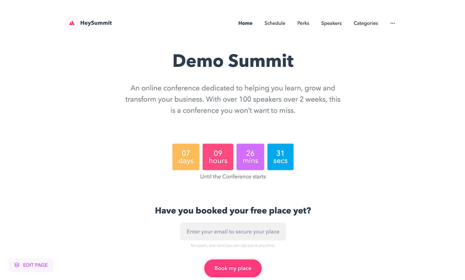 Lifetime Dealto HeySummit for $59