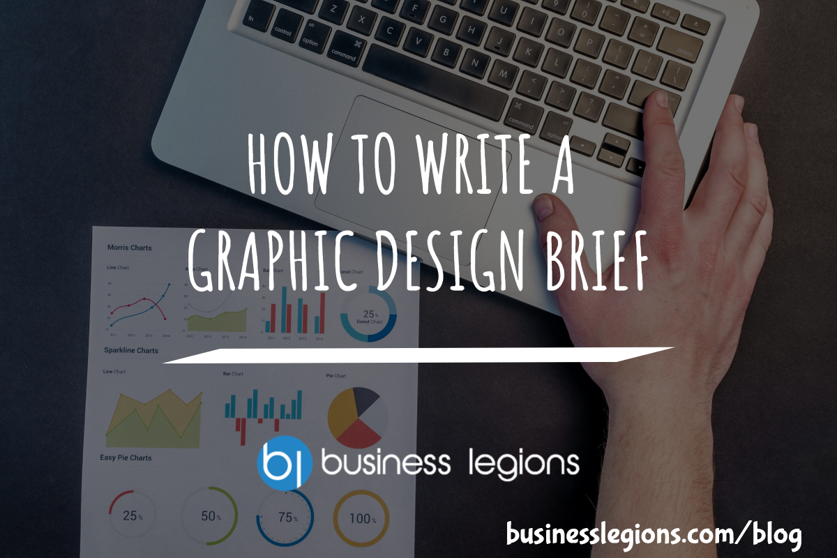 HOW TO WRITE A GRAPHIC DESIGN BRIEF
