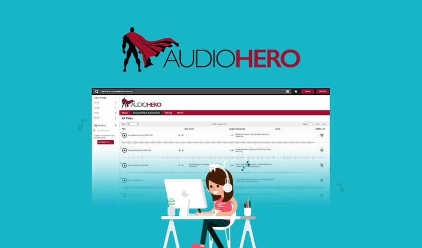Lifetime Deal to AudioHero for $39