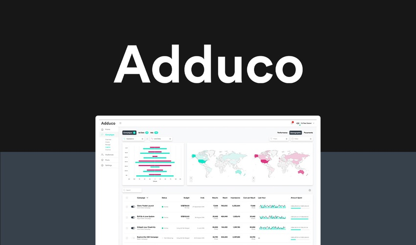 Lifetime Deal to Adduco for $79