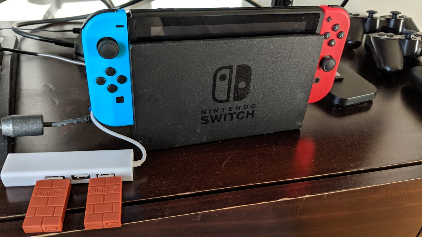 Business Legions - Nintendo Switch PS3 8BitDo 1 feature