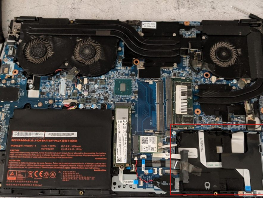 Business Legions - HOW TO OPEN THE METABOX P950HP BACK COVER SSD bay