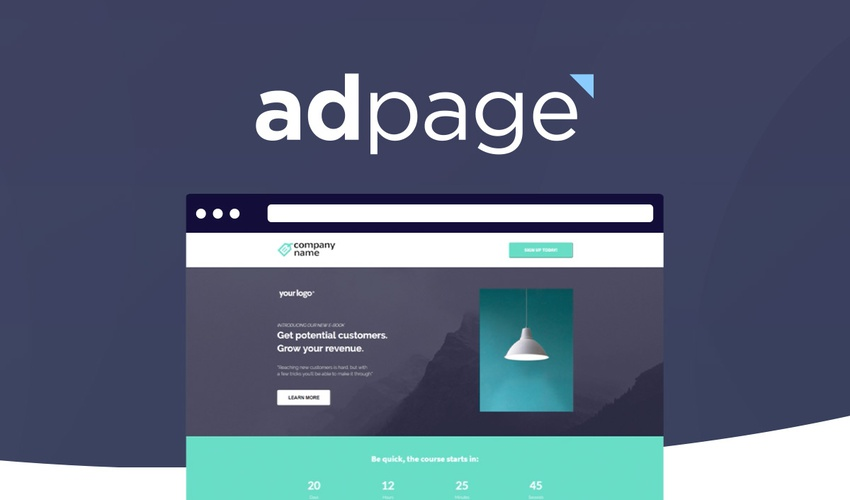 Lifetime Deal to adpage for $49