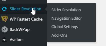Business Legions - Slider Revolution Settings